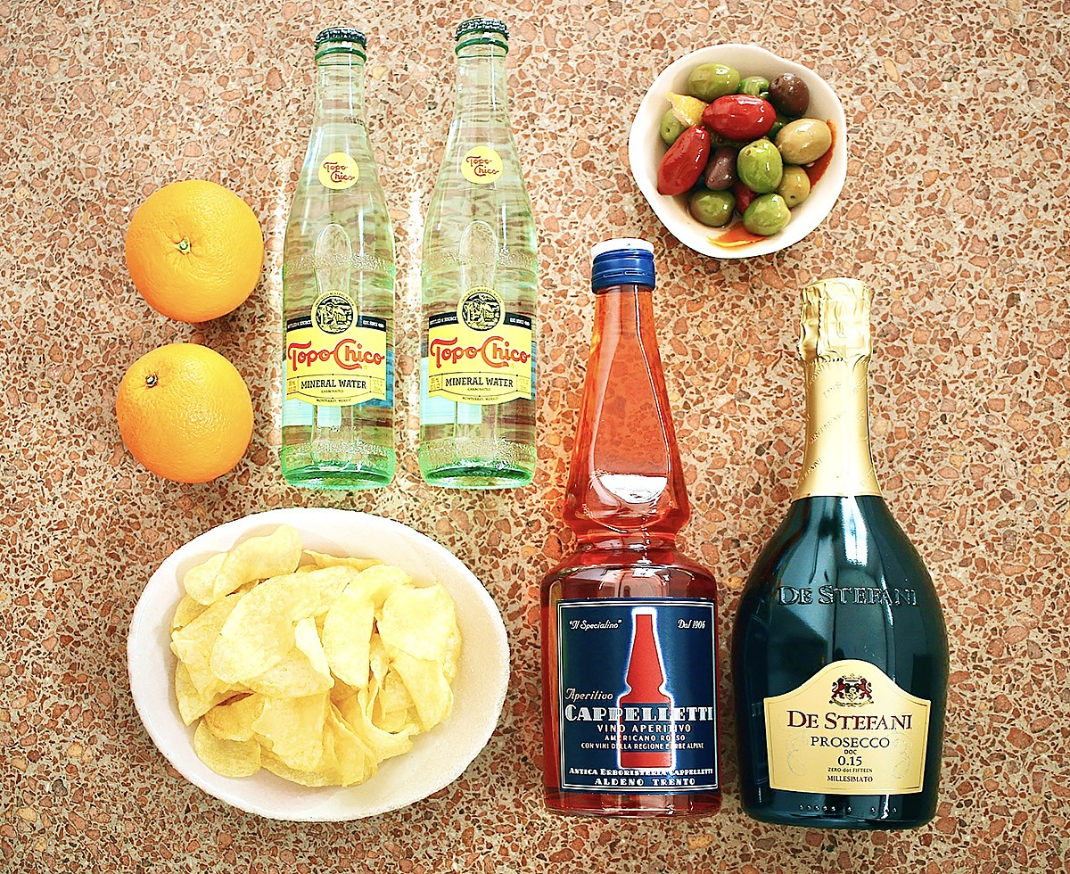The Cappelletti Spritz kit from Montrose Cheese & Win