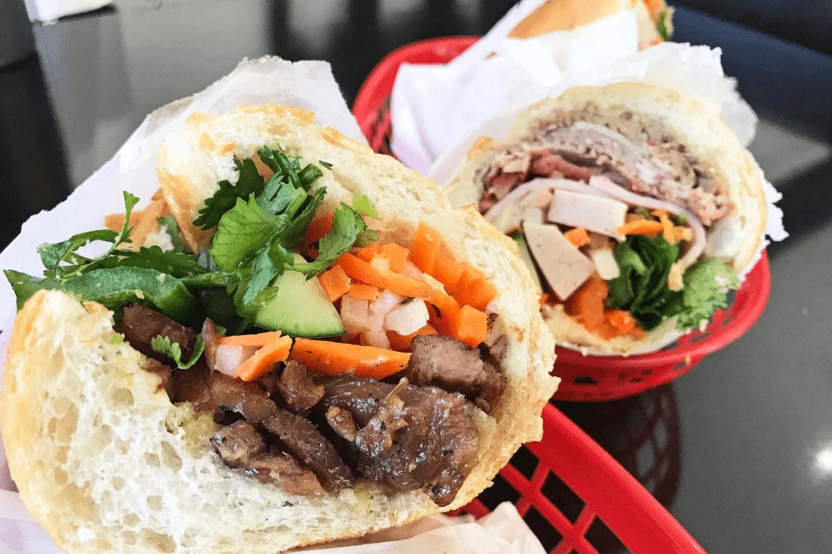 Bahn Mi Sandwiches