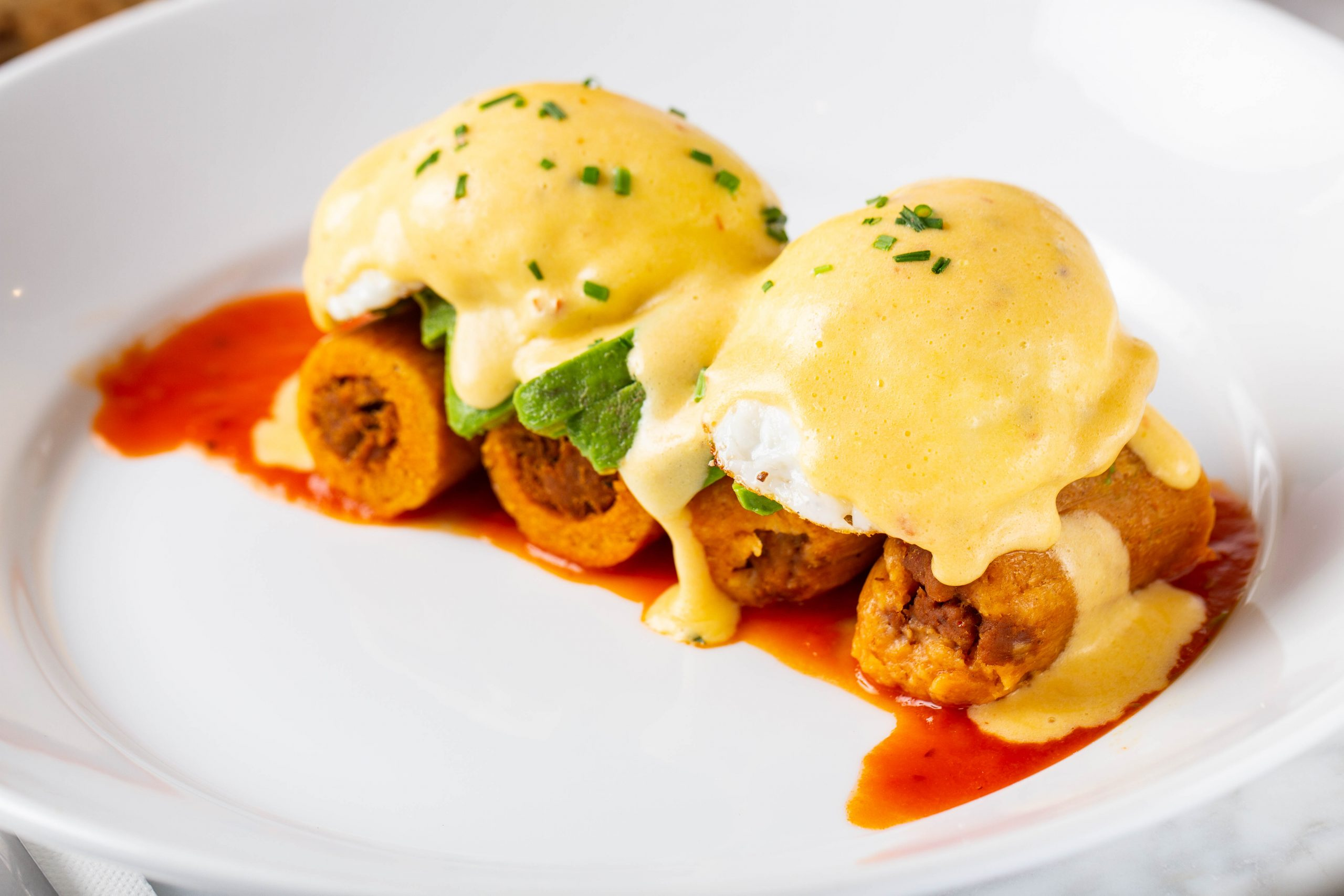 Tamale Benedict at Common Bond