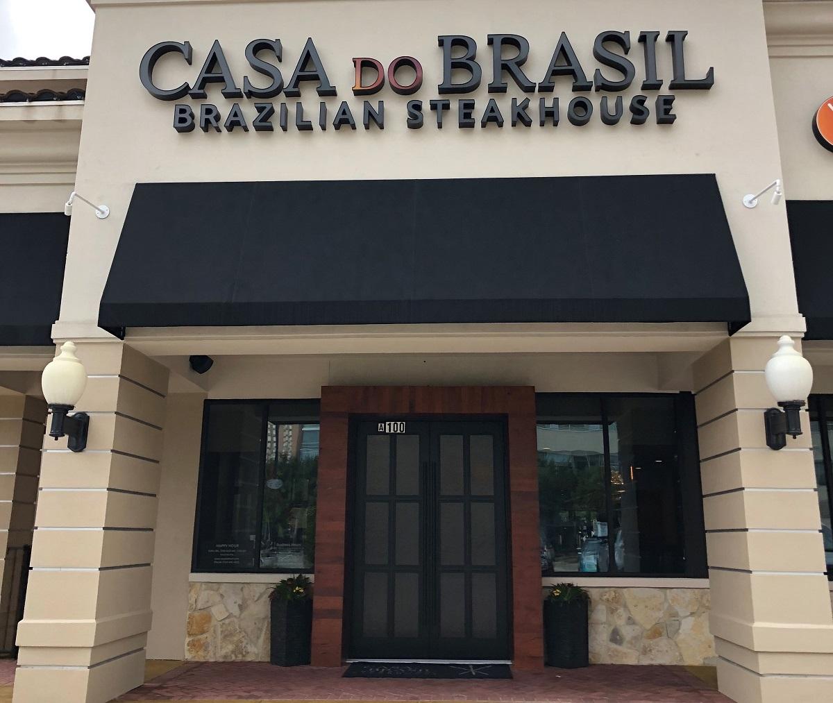 Exterior of Casa Do Brasil restaurant