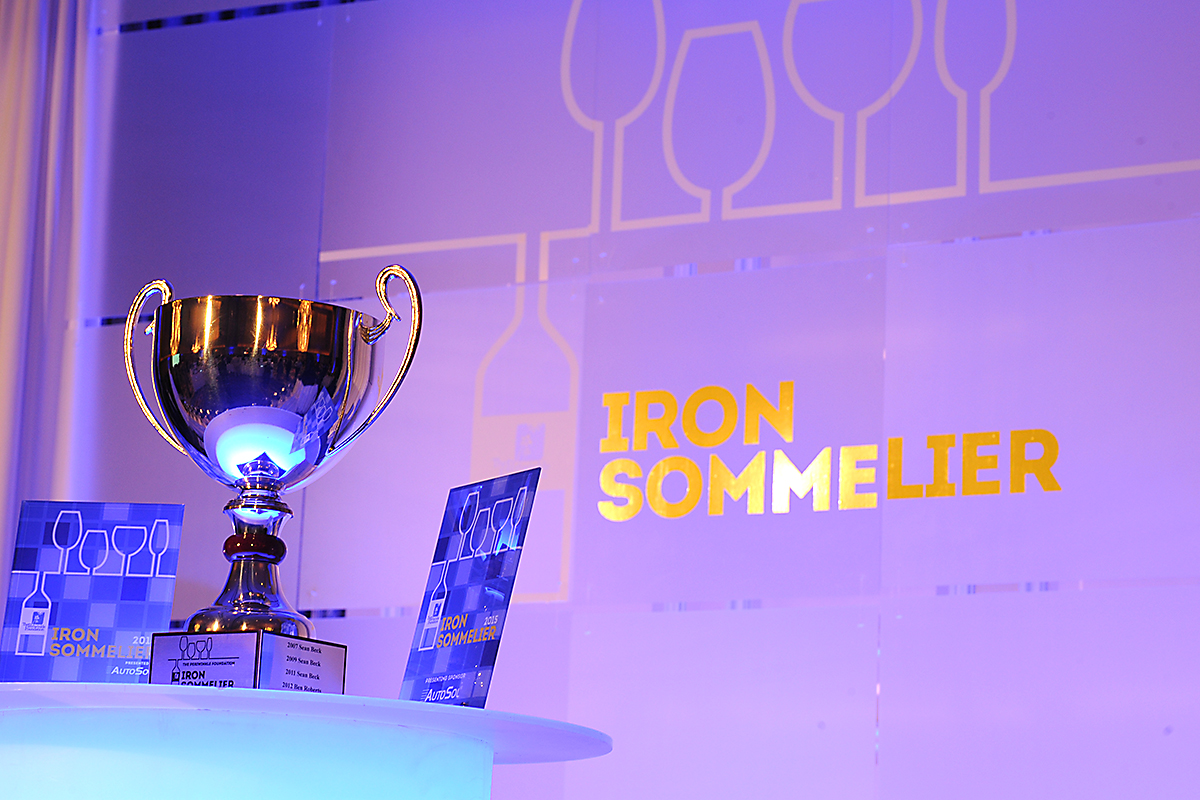Iron Sommelier trophy