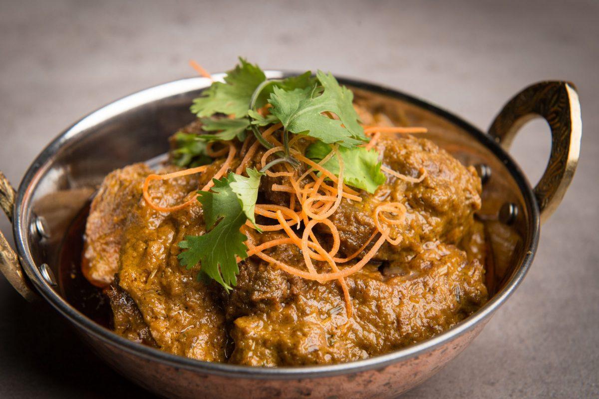 bowl of beef rendang