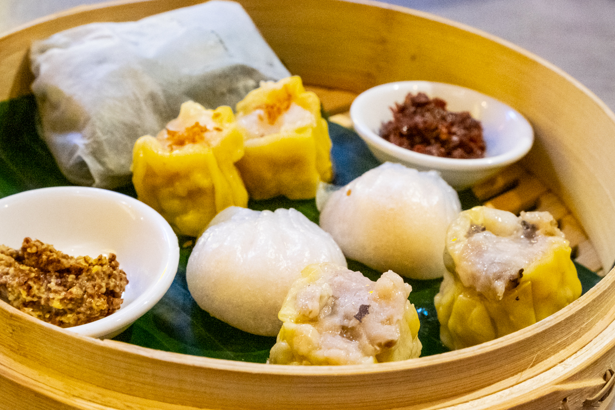 Dim Sum sampler from Phat Eatery and Phat Kitchen