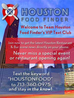 Houston Food Finder text service