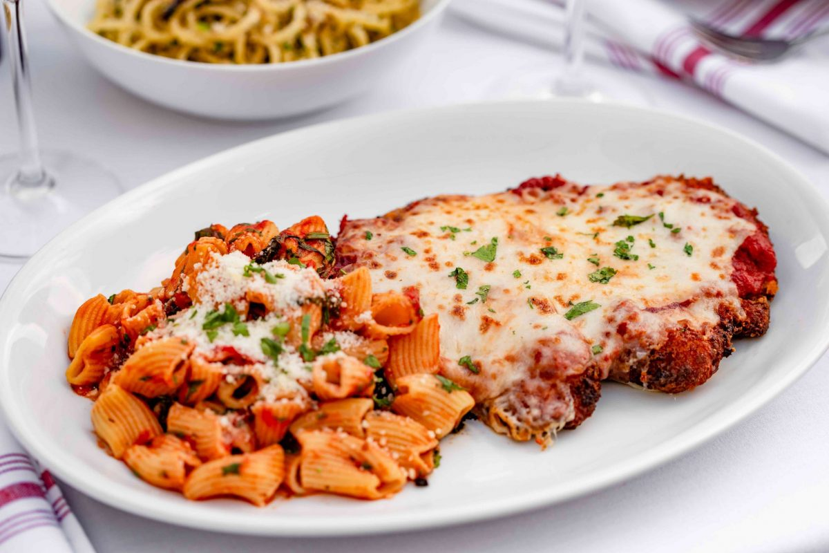 Chicken Parmigiana at B.B. Italia