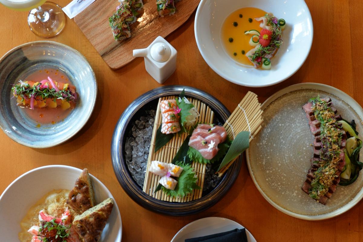 selection of sushi