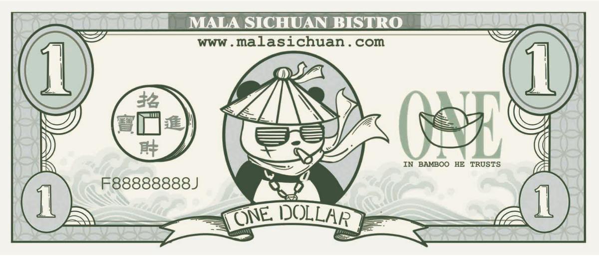 Mala Dollar drawing