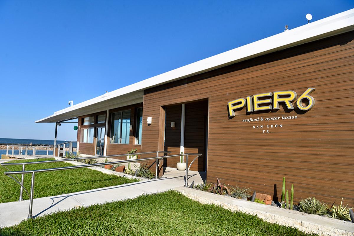 Pier 6 Restaurant exterior