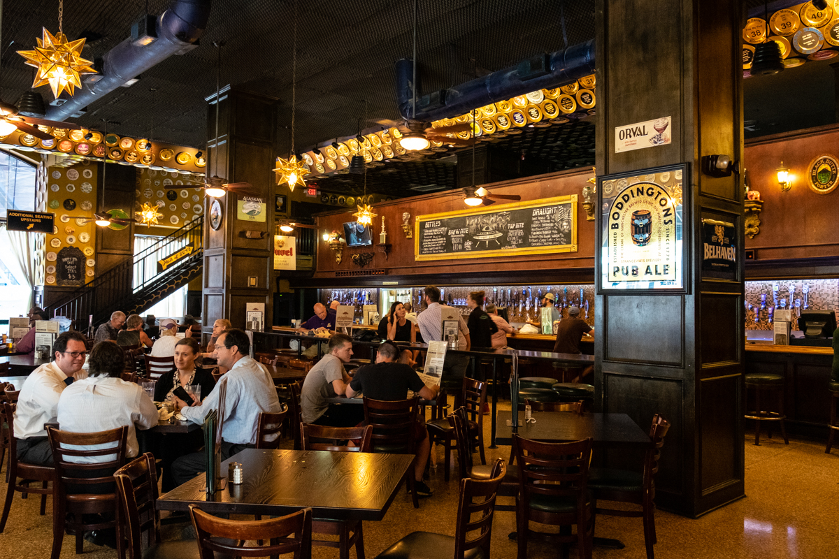 Flying Saucer Draught Emporium in downtown Houston