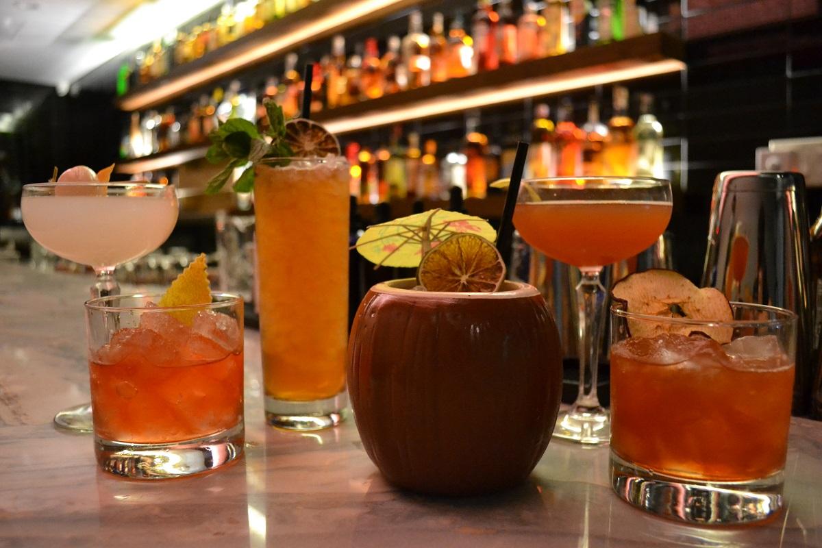 cocktails at Kanpai Club