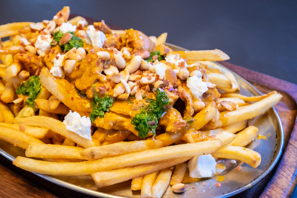Curry Fries at Dak & Bop