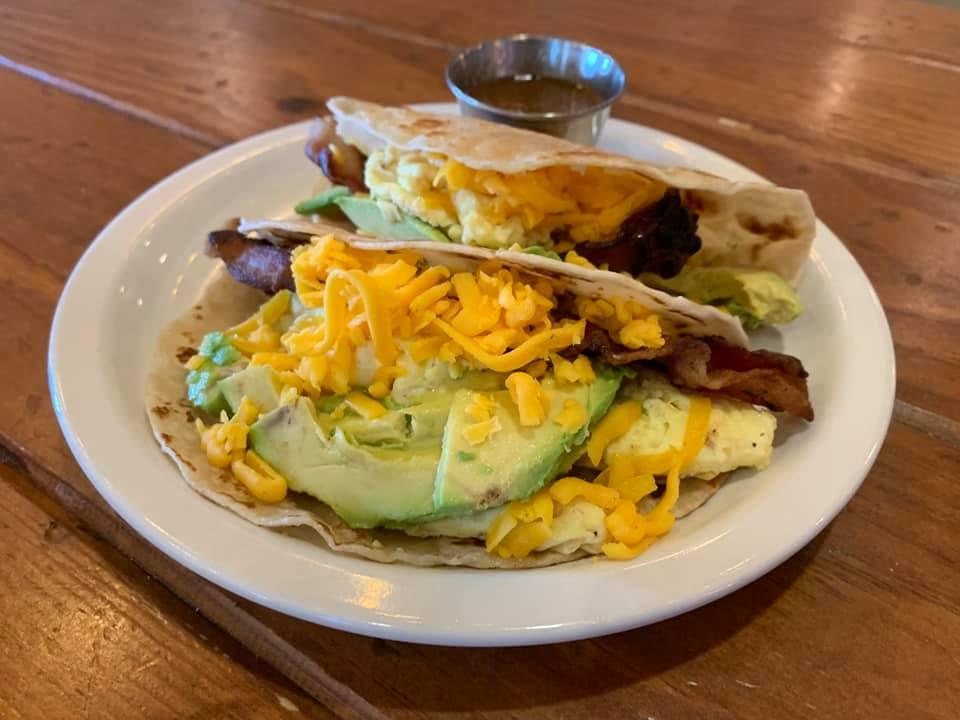 Moderno breakfast tacos
