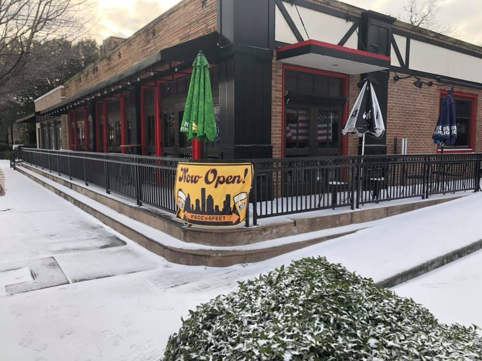 snow at The Phoenix On Westheimer