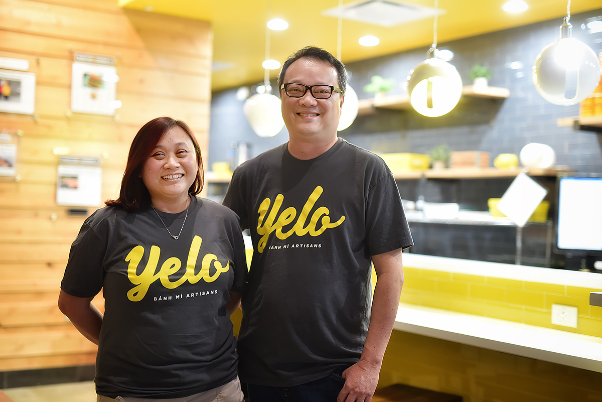 Cuc Lam and Alex Au-yeung of Yelo in Katy