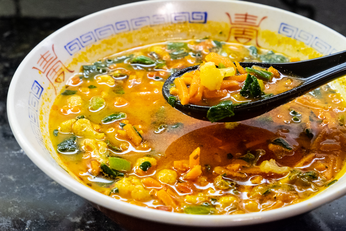 Daily Harvest carrot coconut curry soup