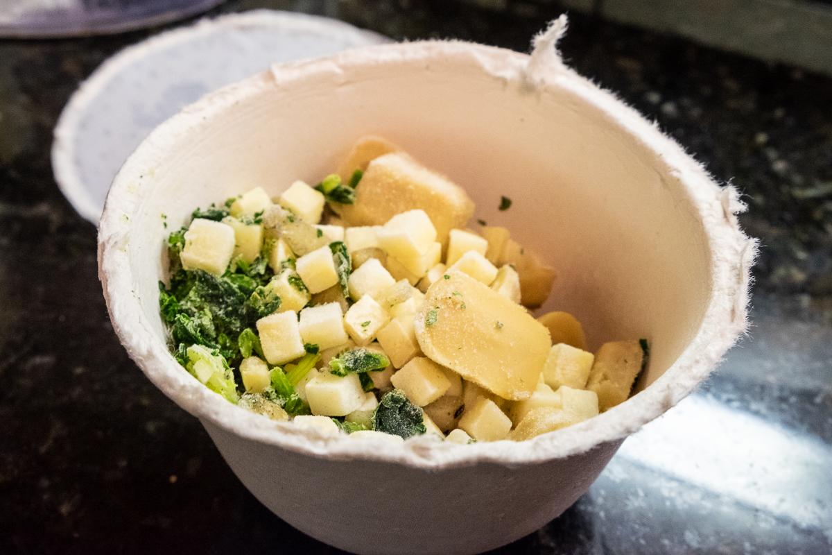 Daily Harvest Cauliflower + Leek Stew