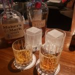 whisky, cocktails and ice