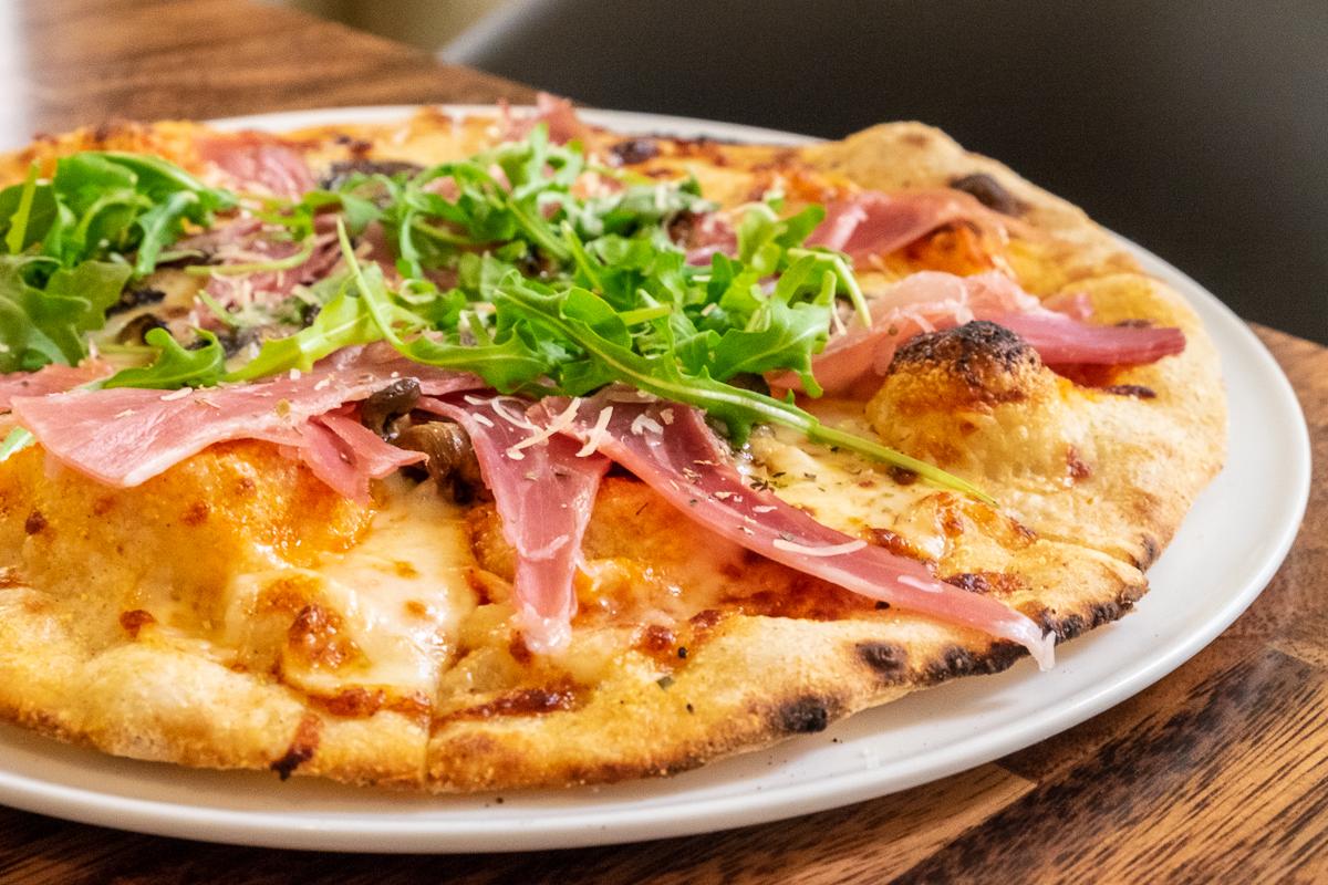 Prosciutto Pizza at The Nash