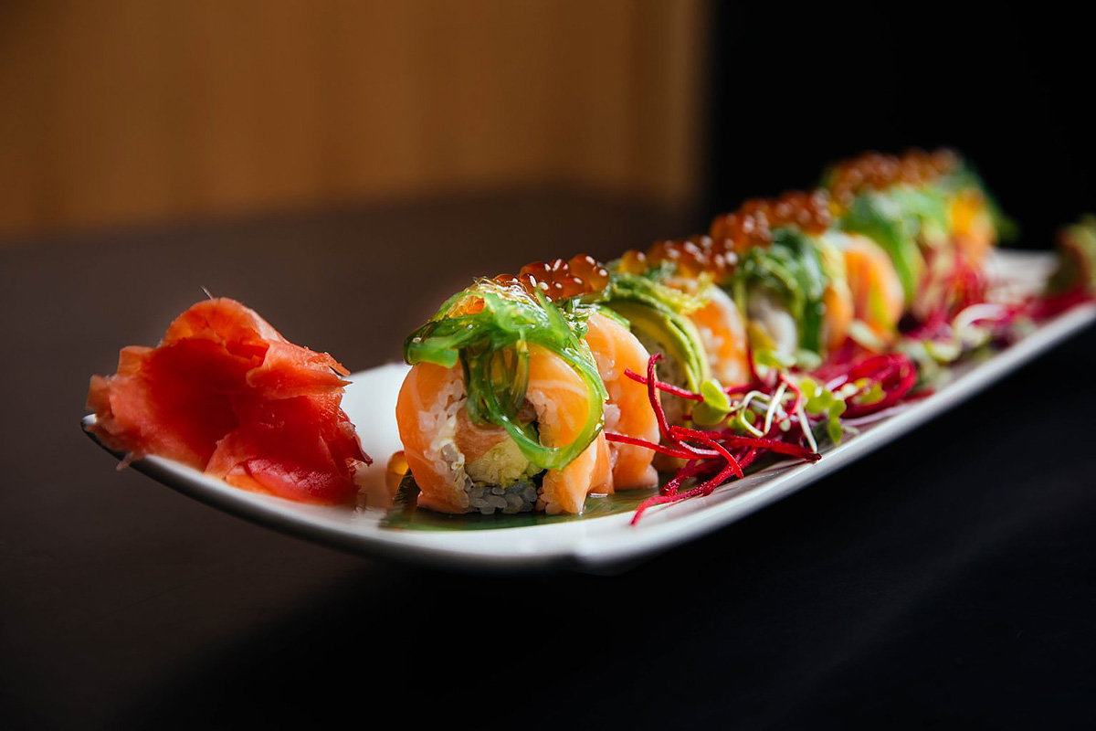 Madre y Hijo Roll from Kokai Sushi