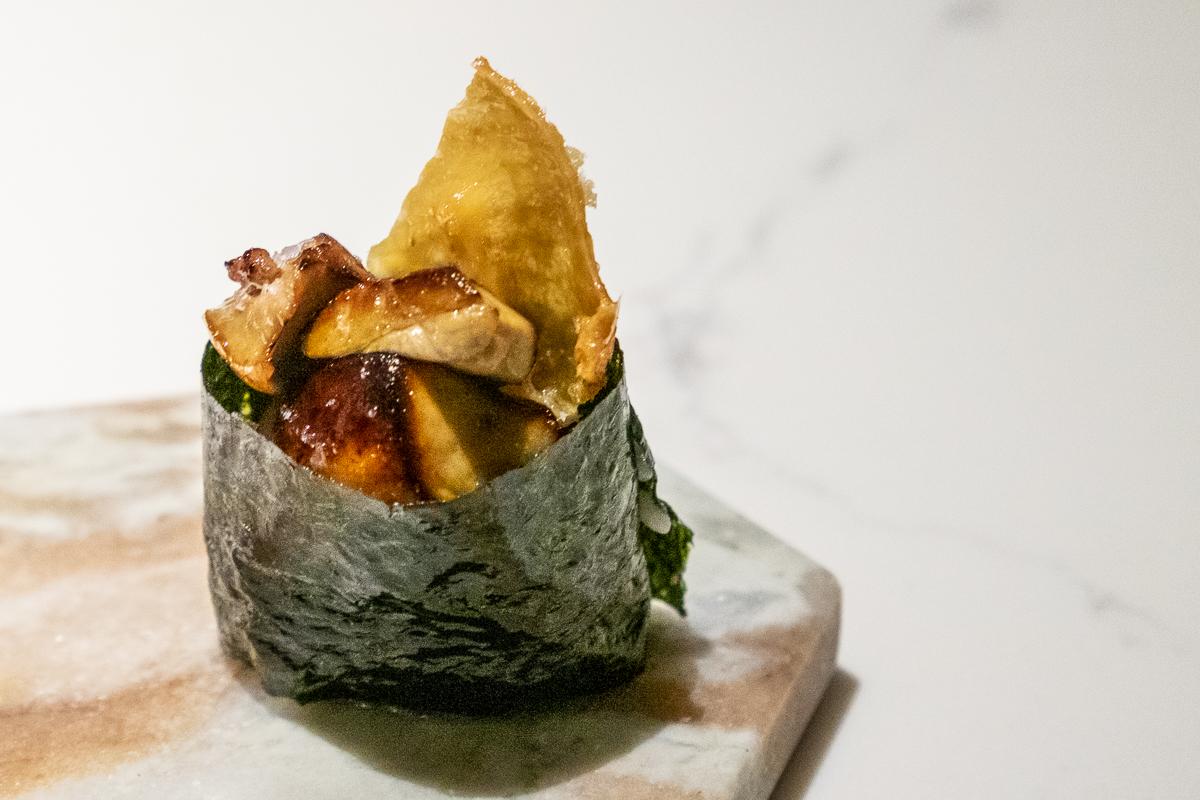 foie gras at Hidden Omakase