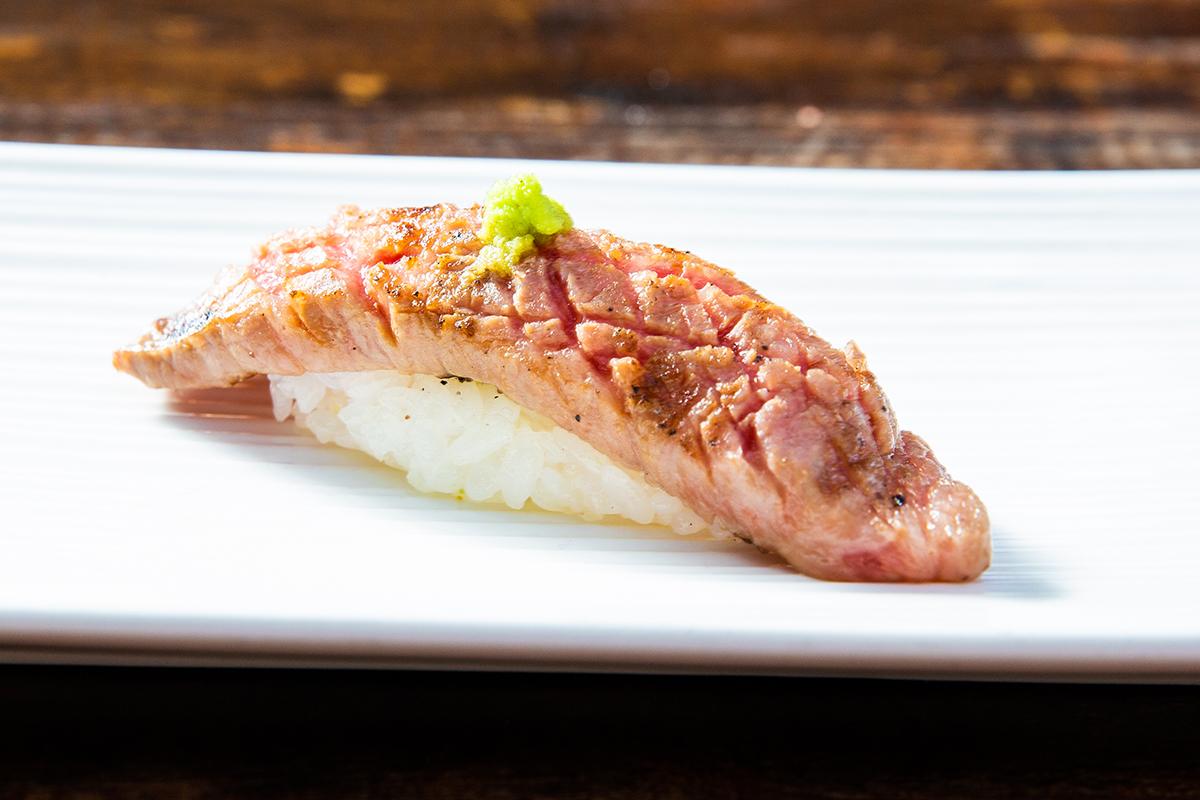 nigiri sushi at kata robata