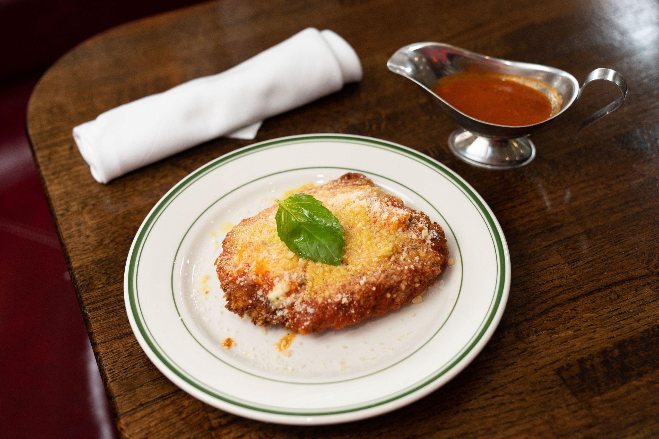 Chicken Parmesan at Fegen's
