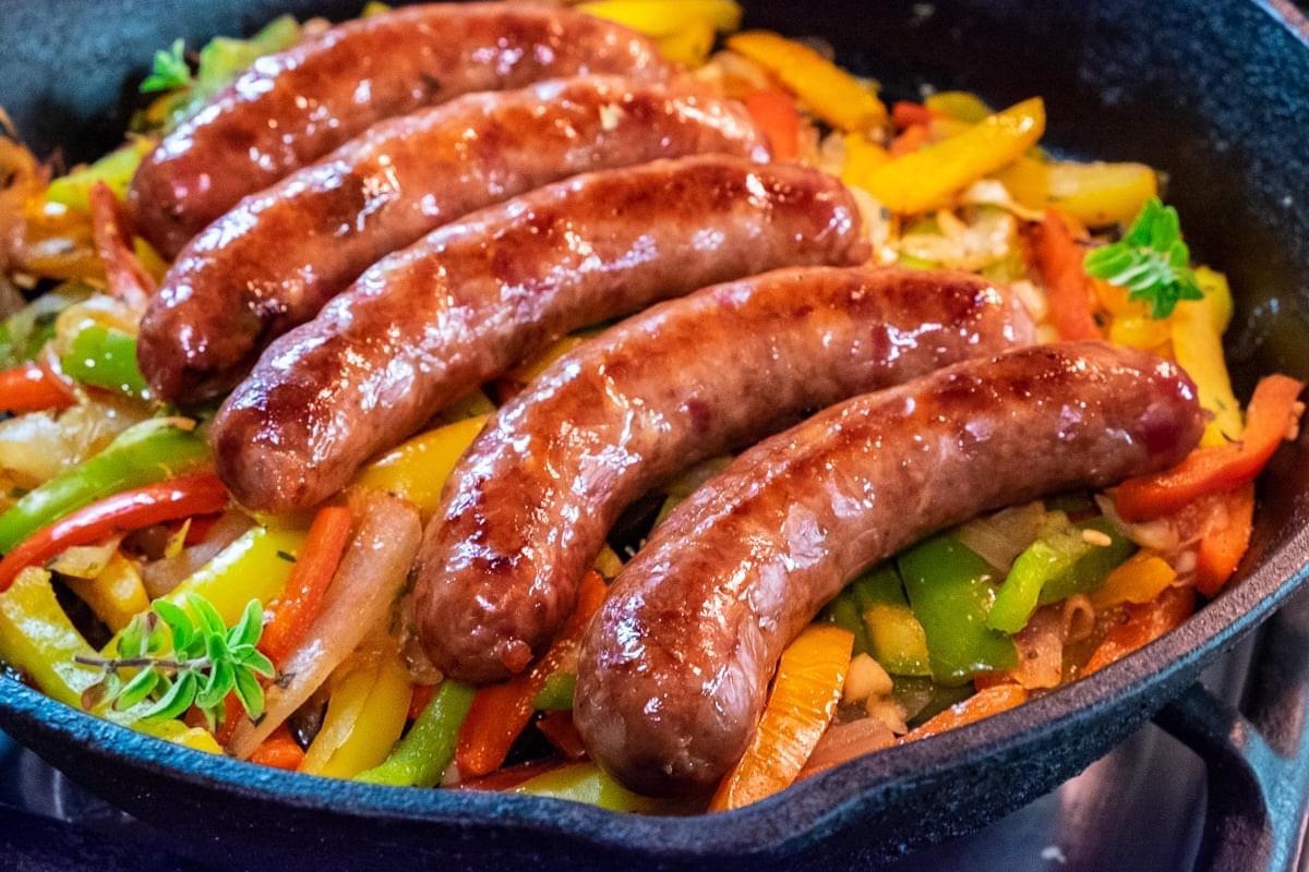 Chris Shepherd's Bacon Sausage