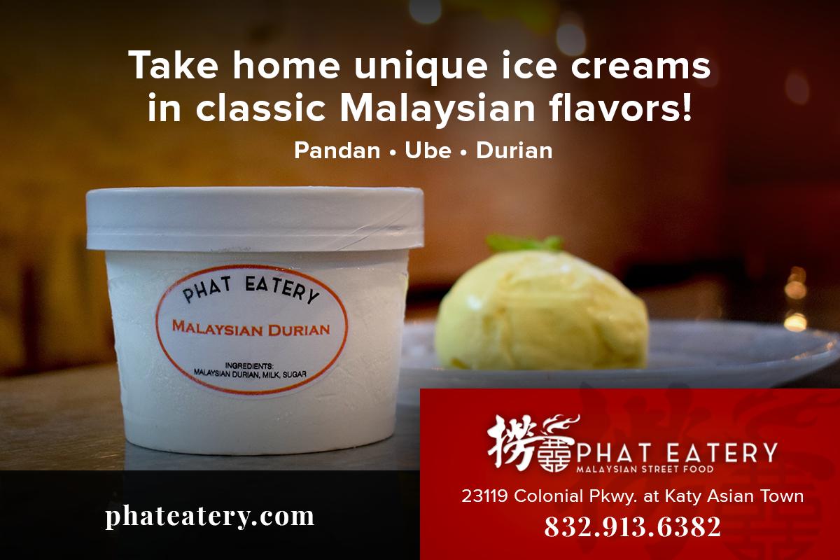 Phat Eatery ice cream ad