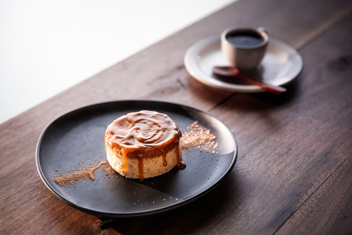 Mozambik's Sticky Toffee Cheesecake