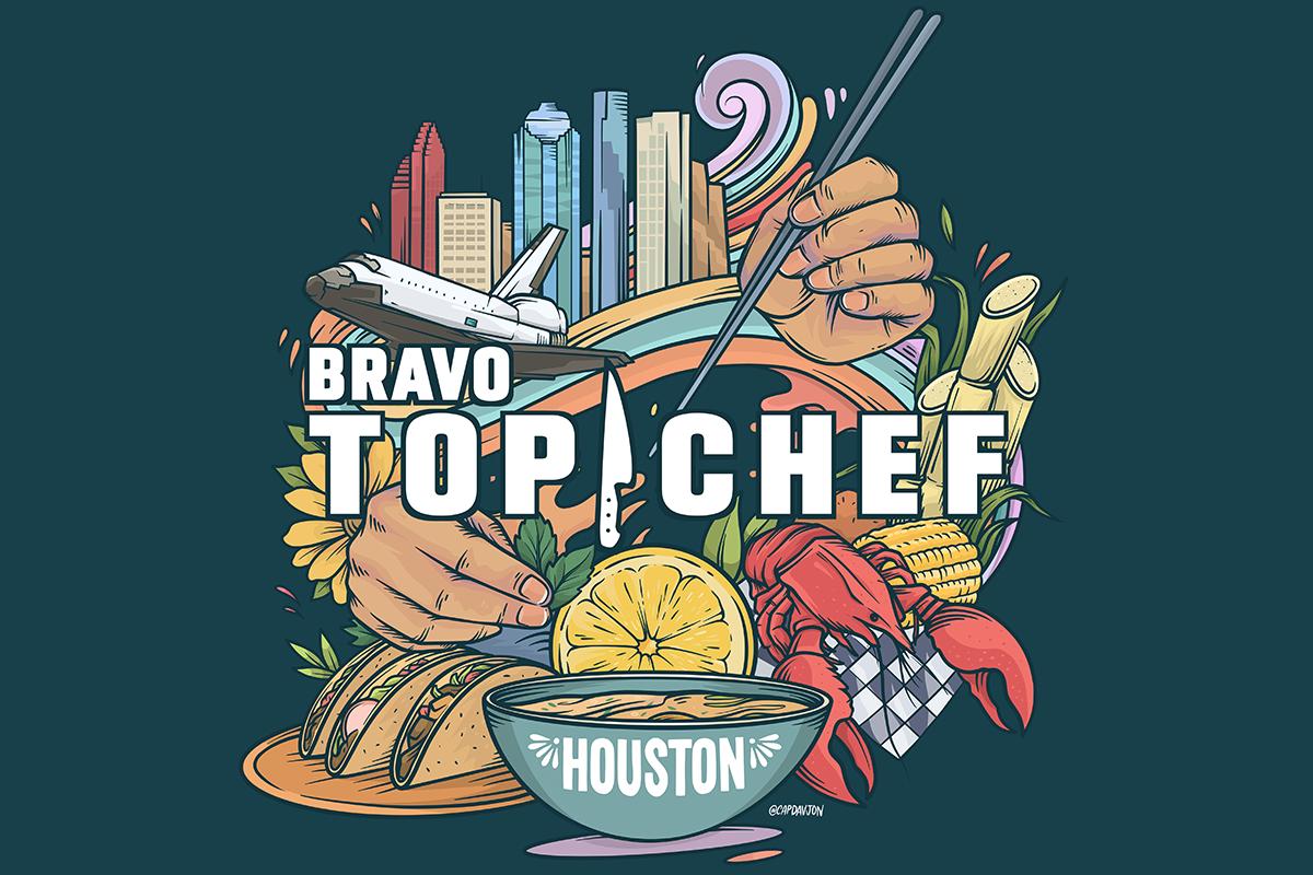 Top Chef Houston artwork