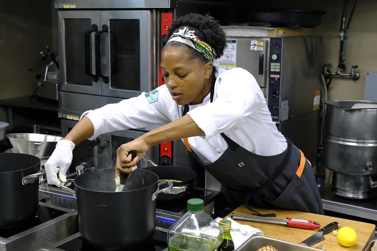 Dawn Burrell in Top Chef